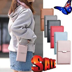 Women-Wallet-Purse-Bag-Leather-Coin-Cell-Phone-Mini-Cross-body-Shoulder-Bag-AU-C