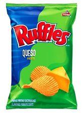 Ruffles Queso Cheese Potato Chips 8.5 Oz.