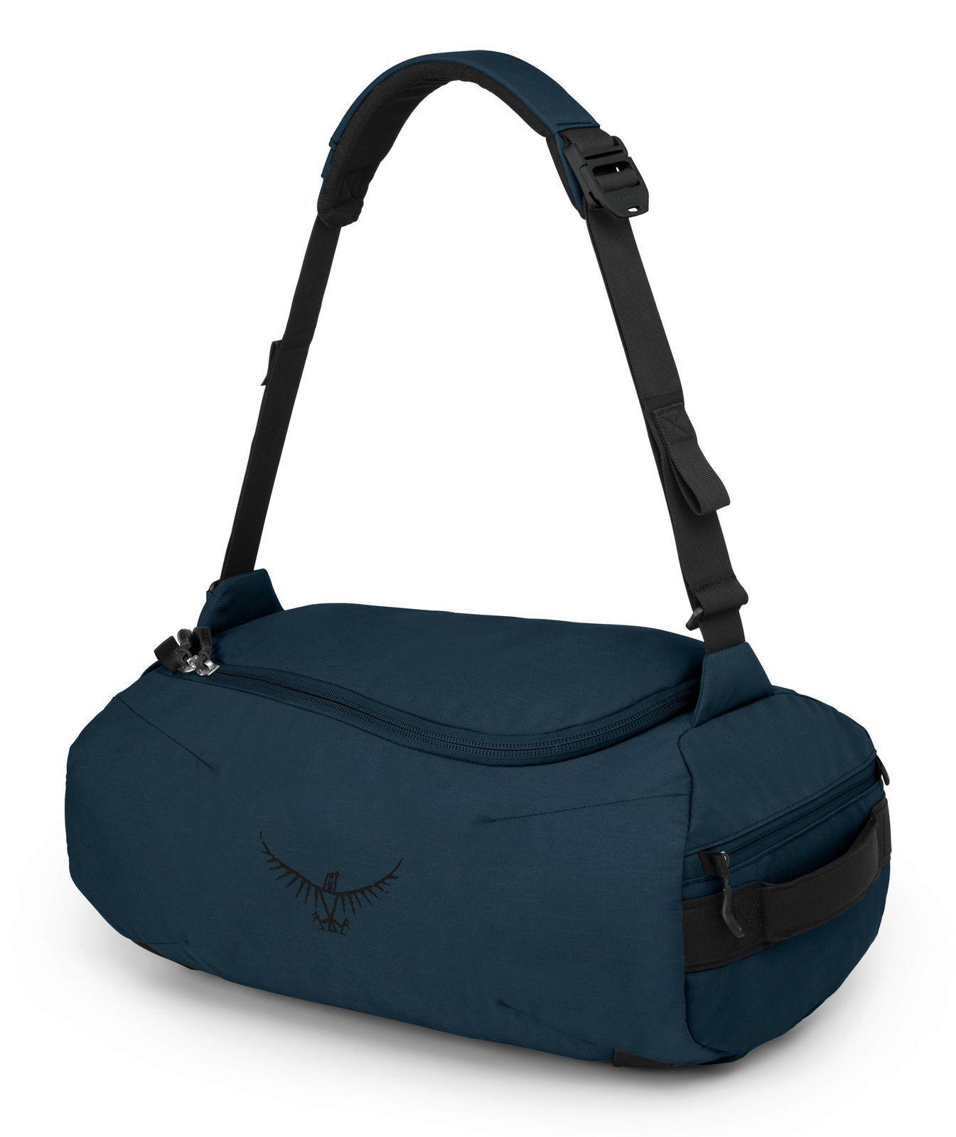 Osprey Trillium 45 Duffle Reisetasche Tasche Vega Blau Blau Grau Neu