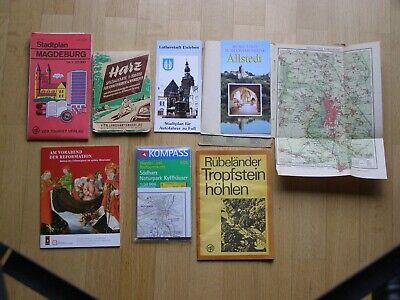 Aggressiv Harz, Halle An Der Saale, Wittenberg - Landkarten, Reiseführer Weder Zu Hart Noch Zu Weich