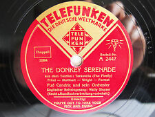 78rpm FUD CANDRIX - THE DONKEY SERENADE / YOU'VE GOT TO TAKE YOUR PICK AND SWING