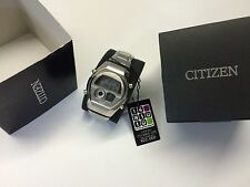 NOS MINT SET Citizen Independent C351 Ana-Digi 1481010 Digital LCD watch uhr MOT