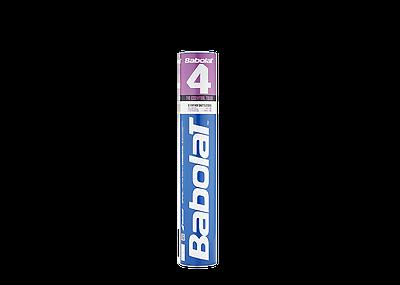 Methodisch Babolat 4 Feather Schuttlecocks Natur Federbälle X 60 G 78 Sport Badminton