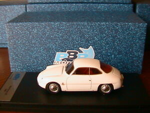 ALFA-ROMEO-SZ-1960-WHITE-BBR-BBR153C-1-43-BIANCA-MADE-IN-ITALY-WEISS-BLANCHE