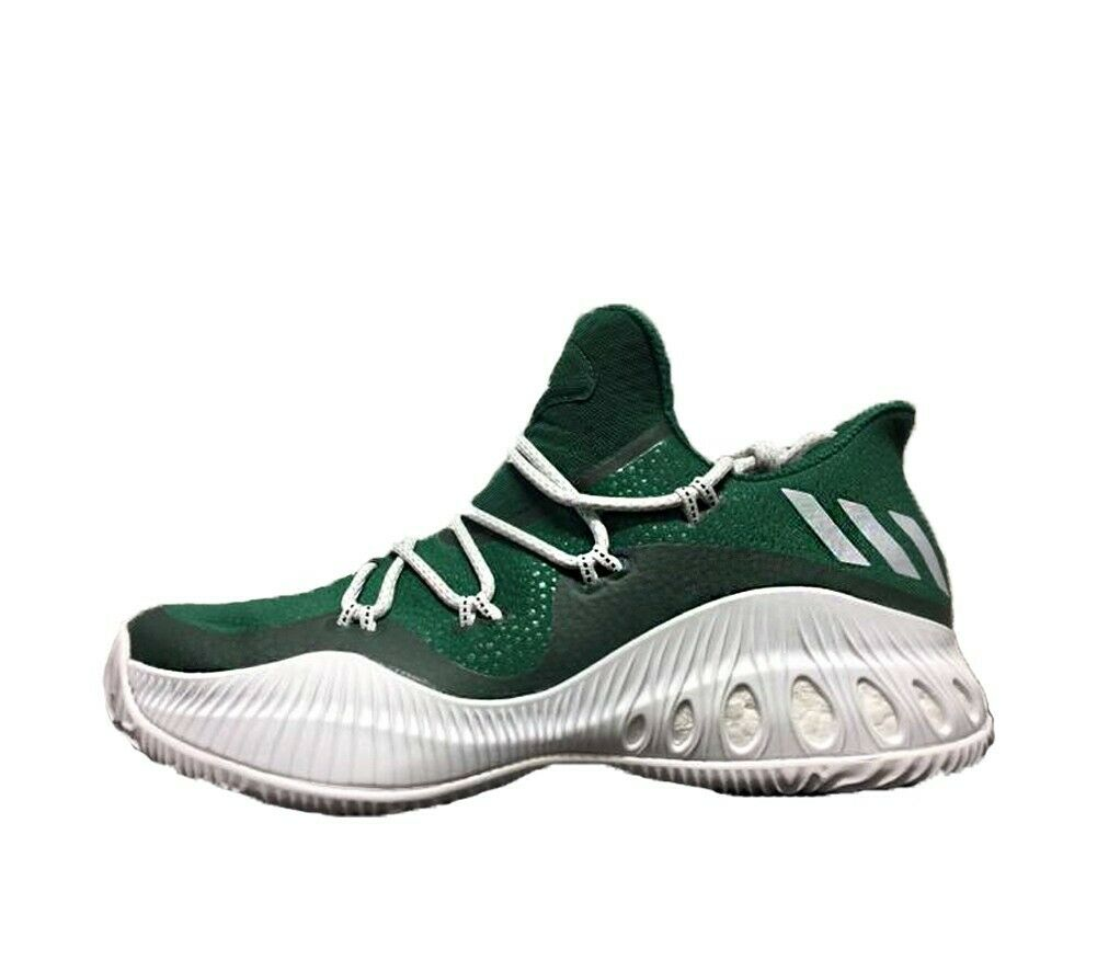 Adidas Men's Crazy Explosive Low BY3246 Green White Basketball shoes US Size 17