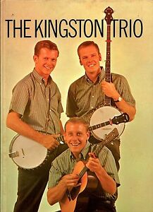 KINGSTON-TRIO-1960-SOLD-OUT-TOUR-CONCERT-PROGRAM-BOOK-DAVE-GUARD-EX-2-NMT