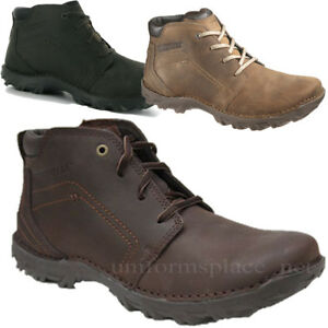 Caterpillar-Boots-Mens-Transform-Leather-Shoes-Brown-or-Black