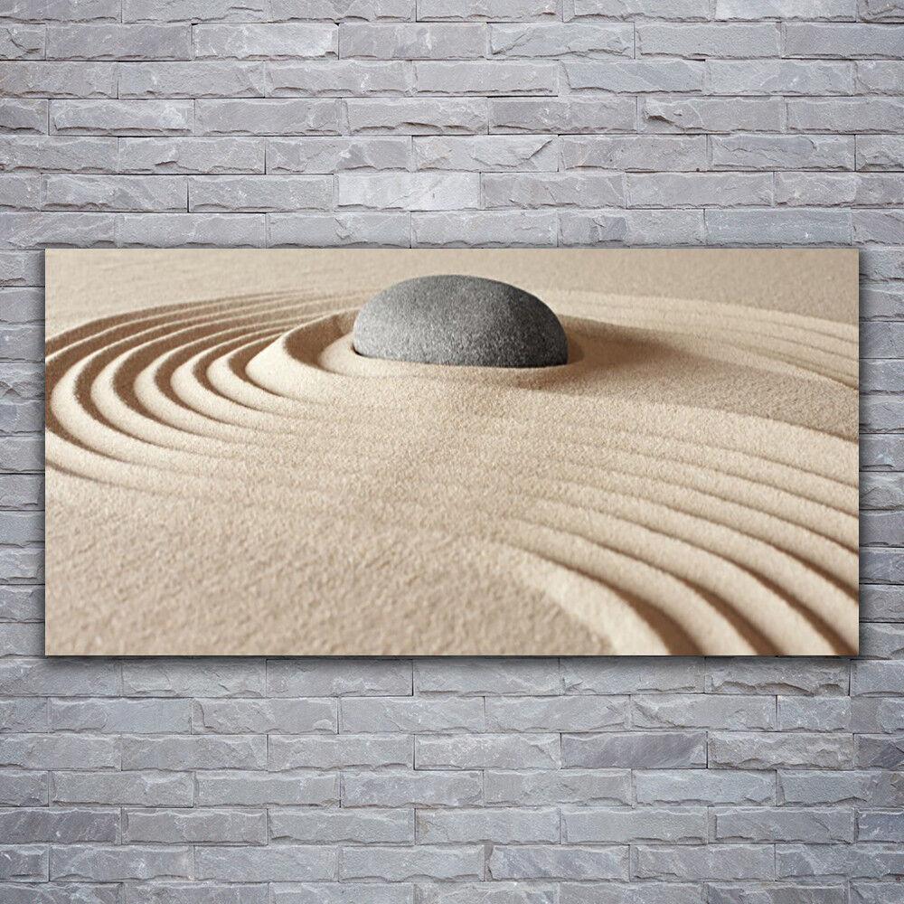 Wandbilder Glasbilder Druck auf Glas 120x60 Sand Stein Kunst