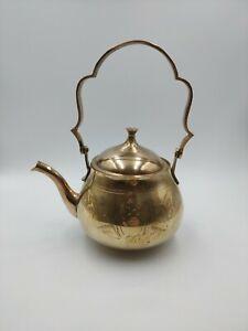 Beautiful-Vintage-Brass-Teapot-Ornament