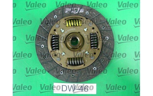 VALEO Kit de embrague 184mm 186mm DAEWOO KALOS CHEVROLET AVEO 826568