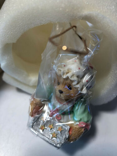 Cherished Teddies ~ GIRL HOLDING TRAY OF COOKIES ~   Enesco ~ 625426