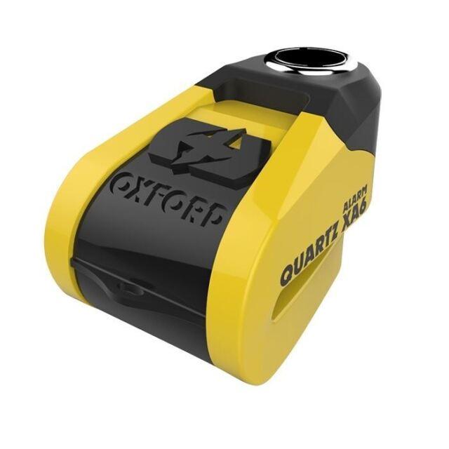 Oxford Quartz xA6 SCOOTER FRENO DE BLOQUEO DE DISCO amarillo / Negro 6mm