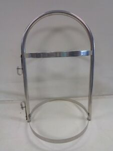 "FENDER RACK / HOLDER STAINLESS STEEL 21 3/8"" X 12 1/2"" X 12 5/16"" MARINE BOAT"