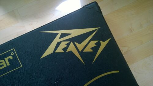 Peavey Decal Logo Sticker for Guitar Hard Case, Amp Cab, Wall Art, Window, Car