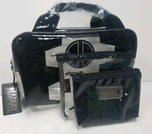 dacb737a8957 Details about Marvel Deadpool Clear Vinyl Handbag 3 Piece Travel Storage  Cosmetic Bag set