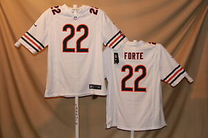 MATT FORTE Chicago Bears NIKE Game JERSEY XL NwT  100 retail white ... 3c342339c
