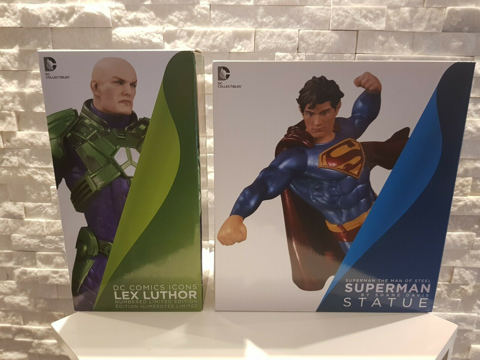 DC Collectibles Lex Luthor & Superman NEW Ultimate Hero vs Ultimate Villain