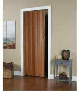 Folding Doors Room Dividers Accordion Interior Closet Home Decor Accessories New