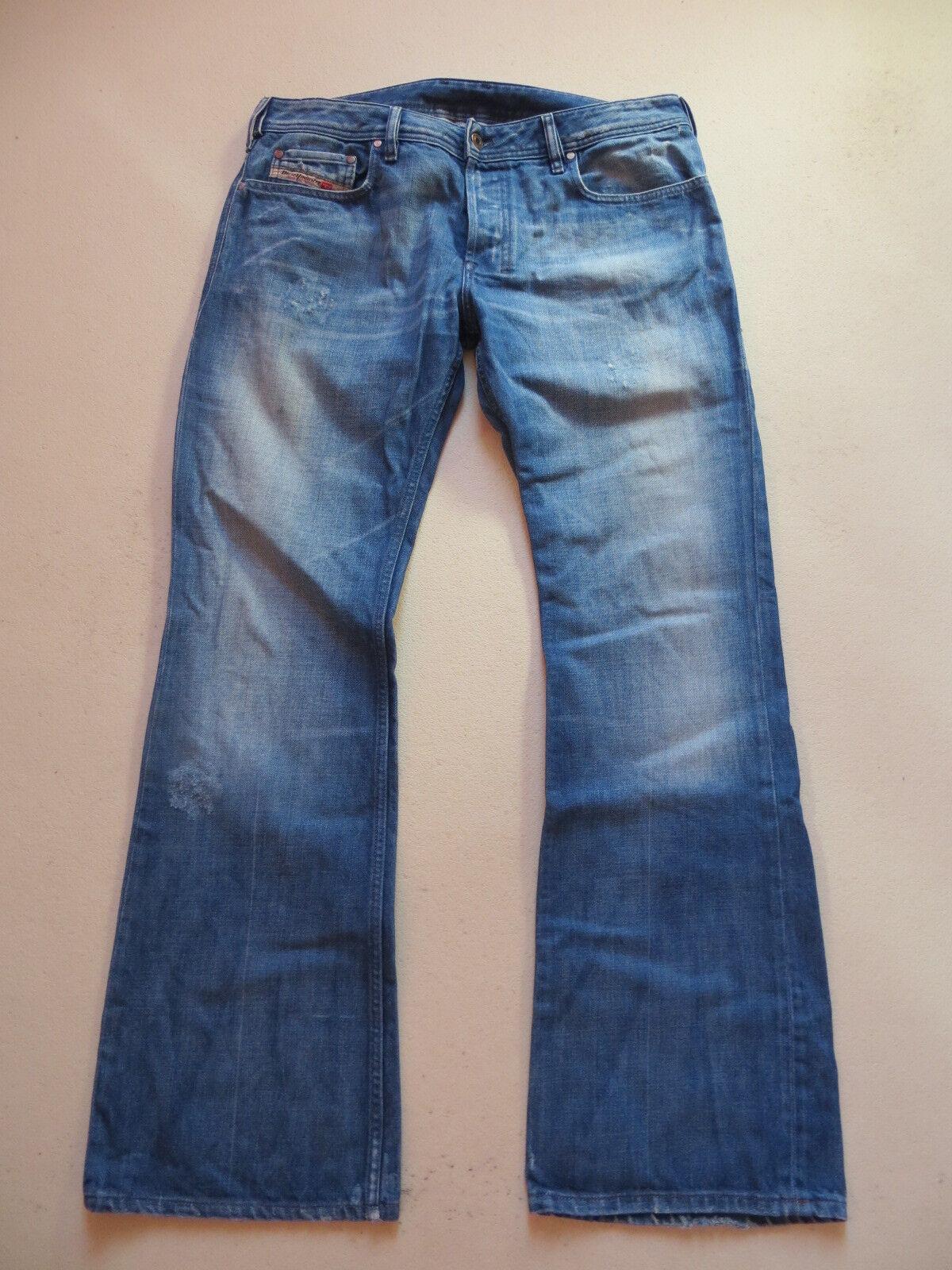 Diesel ZATHAN wash 00772 Stiefelcut Jeans Hose W 33  L 32 Vintage Denim RARITÄT
