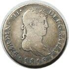 elf Spain 4 Reales 1816 GJ Madrid  Ferdinand VII  Silver