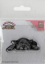 Clear Stamp Silikonstempel Clear Stempel Motivstempel Embossing Katze (001)