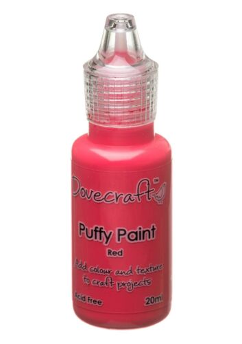Black Red Blue Puffy Paints by Dovecraft Purple Pink Green 3 for 2 Offer