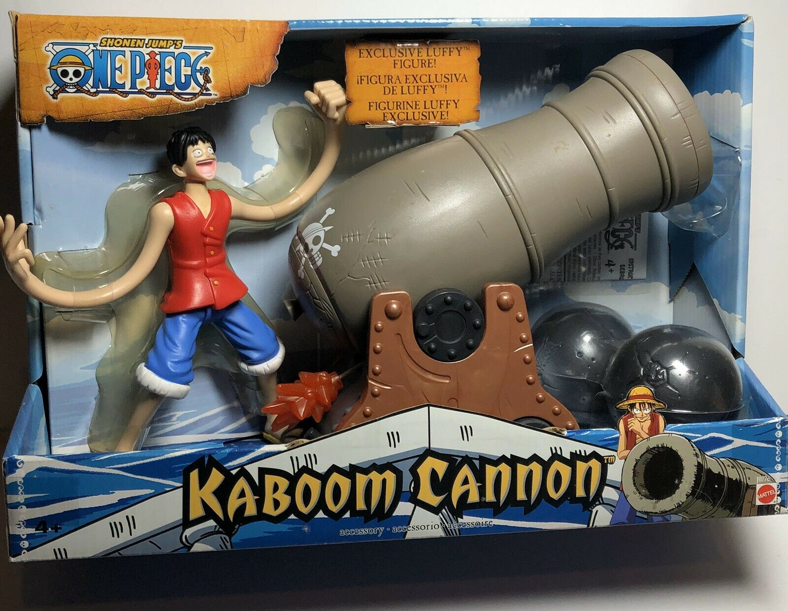Shonen Jump One Piece Kaboom Cannon With Luffy cifra. nuovo.