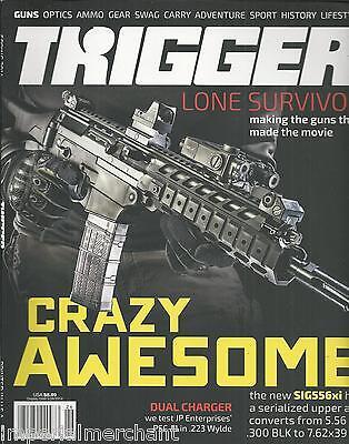 Trigger magazine Guns Optics Gear Swag Carry Adventure Sport History Lifestyle