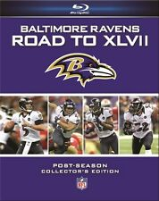 BALTIMORE RAVENS ROAD TO SUPER BOWL XLVII New Blu-ray All 4 Postseason Games