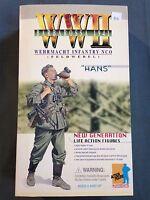 "Dragon 1/6 Scale 12"" German WWII Wehrmacht Infantry NCO Feldwebel Hans #70002"