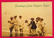 "Unposted . ""GREETINGS FROM BOGNOR REGIS"", Sussex"