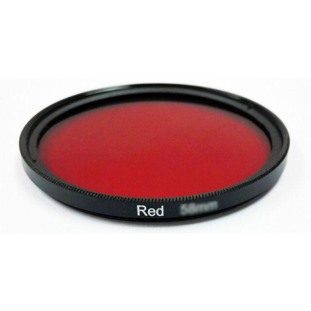 NEW HAIDA FILTER FILTRE RED COLOR ENHANCE 58mm