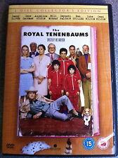 Gene Hackman Ben Stiller ROYAL TENENBAUMS ~ 2001 Wes Anderson ~ 2-Disc UK DVD