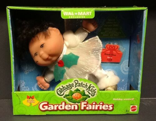 2000 Cabbage Patch Kids Garden Fairies Golden Holiday, Sloane Alma, July 15, NIB