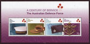 Australien-2014-die-Royal-Australische-Verteidigung-Sonderblock-Nicht-Gefasst