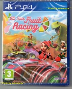 ALL-STAR-FRUIT-RACING-039-New-amp-Sealed-039-PS4-Four