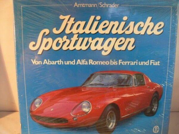 Italienne voiture de  sport de Abarth et Alfa romeo à Ferrari et Fiat volume 1  envoi gratuit dans le monde entier