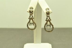 FASHION-JEWELRY-PEAR-SHAPED-CUTOUT-WITH-RHINESTONE-ACCENTS-EARRINGS-COS011