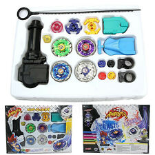 Beyblade Metal Fusion Master Top Kampf String Launcher Grip Set Kinder Spielzeug