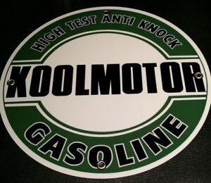 Koolmotor Gas Oil gasoline sign