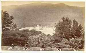 G-W-W-Royaume-Uni-Taymouth-Castle-Vintage-albumen-print-Tirage-albumine