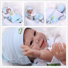 22'' Reborn Toddler Dolls Handmade Lifelike Baby Solid Silicone Vinyl Boy Doll