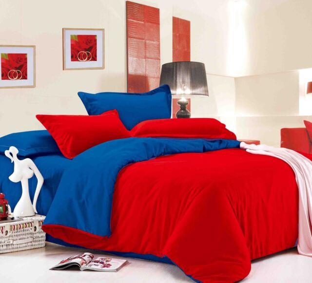 Dexim 4 Piece Solid Color Double BedSheet+two pillowcover +Duvet/Quilt Cover set