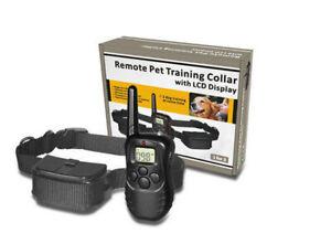 Collare elettronico Per Addestramento Del Cane Anti Abbaio Display LCD Telecoma