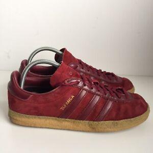 Adidas Topanga Red Suede Size 8