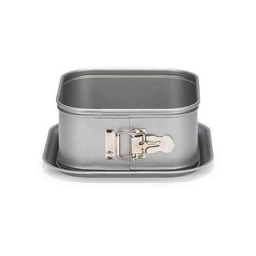 Viereck Springform Backform hoher Rand 12cm Patisse Silver Top Quadratische