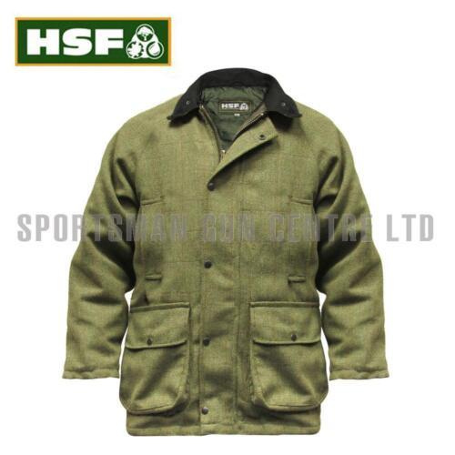 Salvia 2xl HSF Hereford Tweed Chaqueta