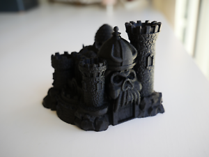 FREE SHIPPING! Grayskull Castle Pen Holder Masters of the Universe Eternia
