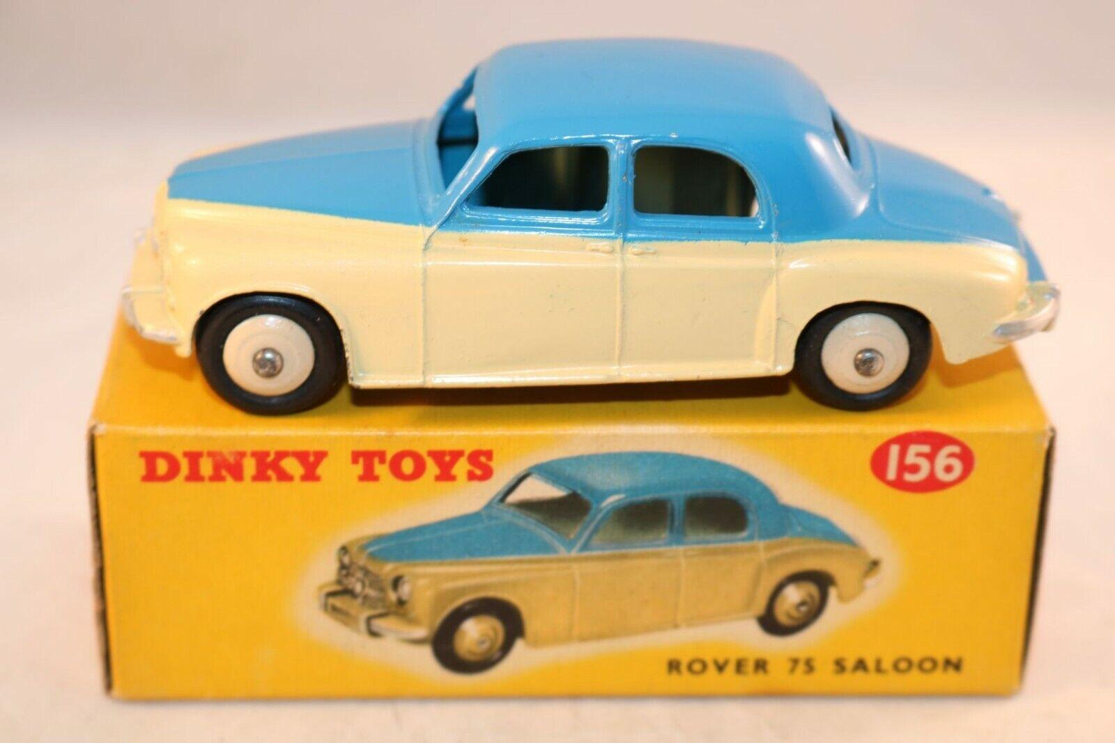 alto sconto Dinky giocattoli 156 Rover Rover Rover 75 saloon 2 tone blu e cream very near mint in scatola RARE  moda classica