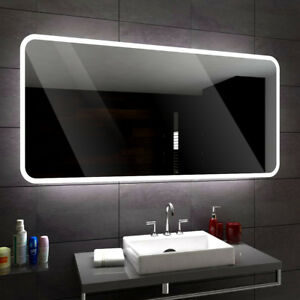Das Bild Wird Geladen OSAKA Badezimmerspiegel  Led Badspiegel Lichtspiegel Wandspiegel Spiegel Nach